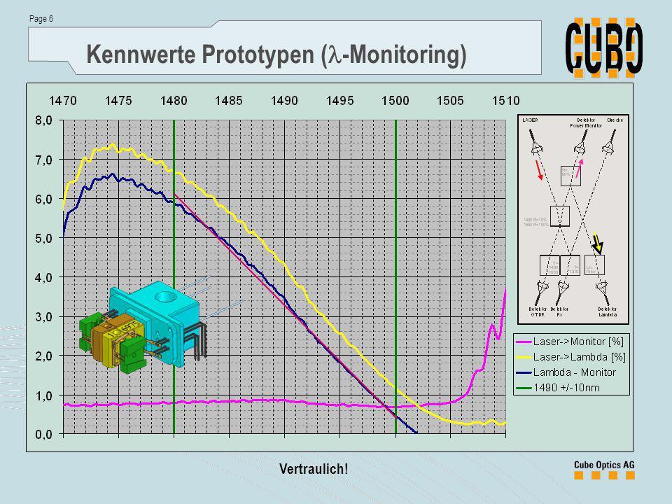 Kennwerte Prototypen (l-Monitoring)