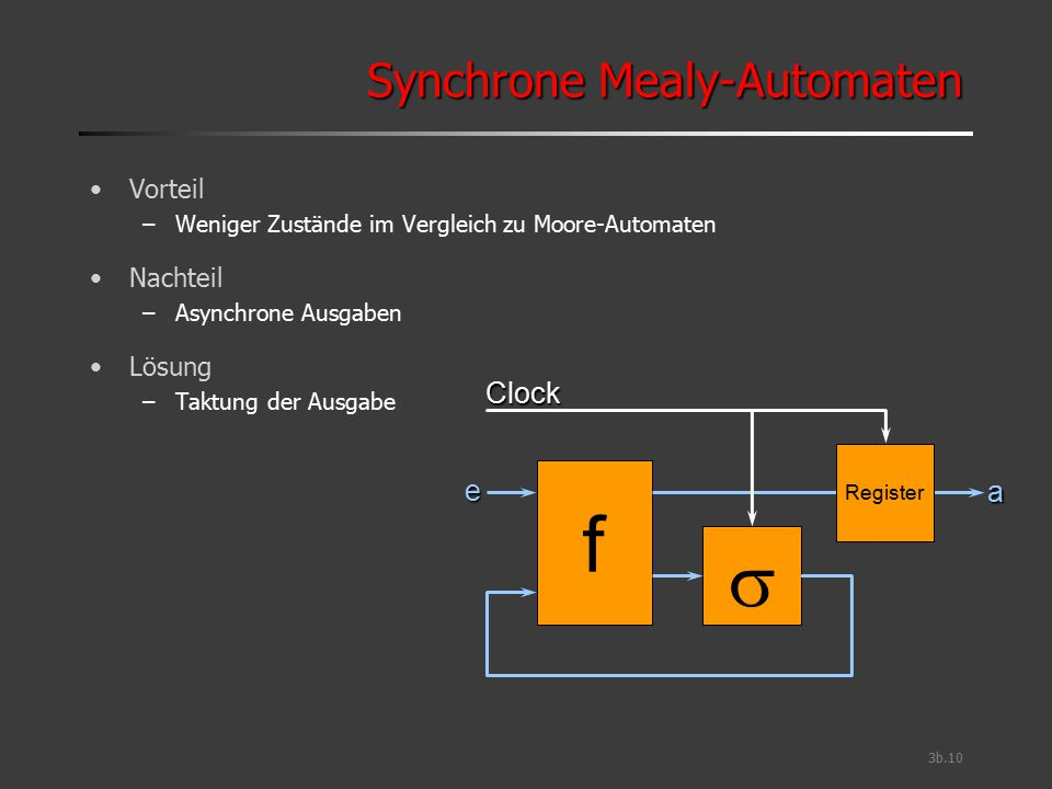 Synchrone Mealy-Automaten