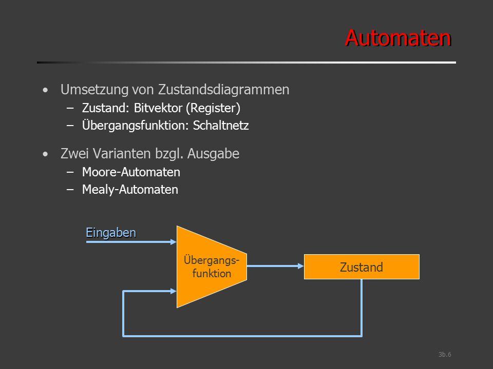 Automaten Umsetzung von Zustandsdiagrammen