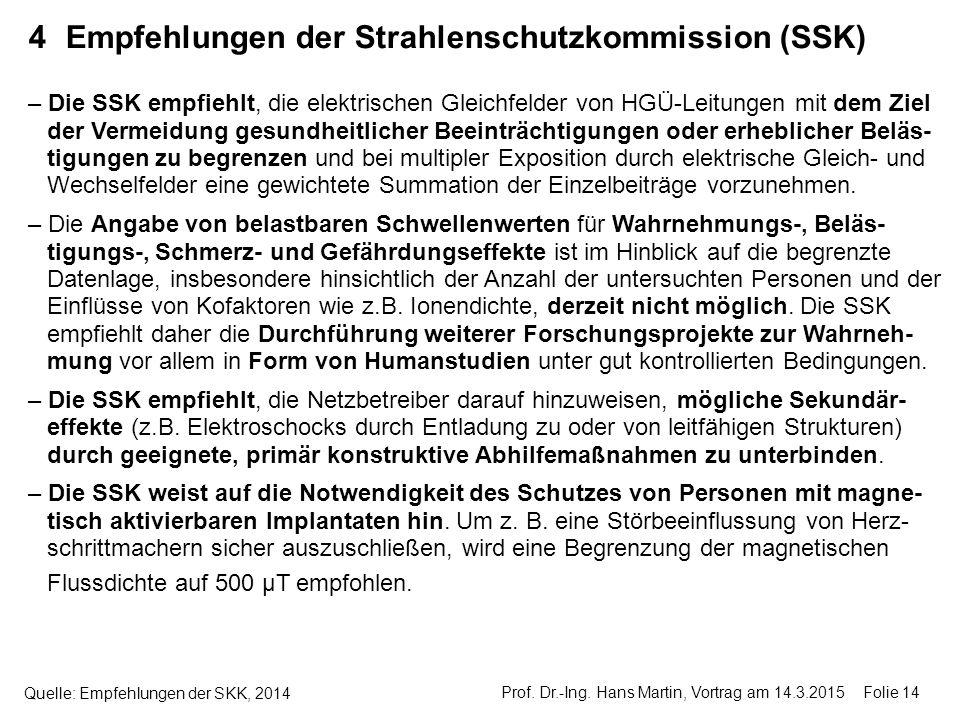 4 Empfehlungen der Strahlenschutzkommission (SSK)