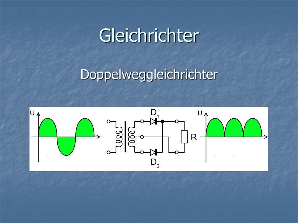 Doppelweggleichrichter