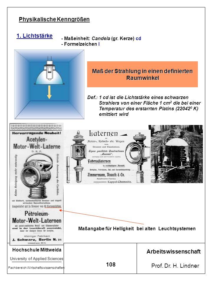 Maß der Strahlung in einen definierten