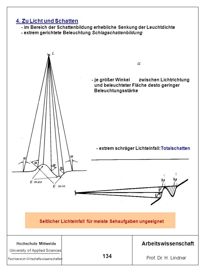 4. Zu Licht und Schatten Arbeitswissenschaft 134