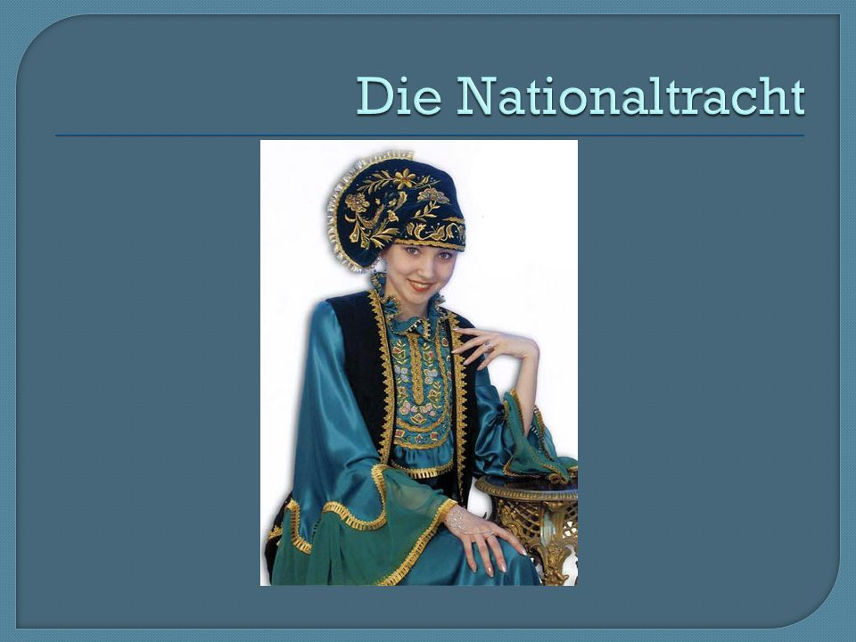 Die Nationaltracht
