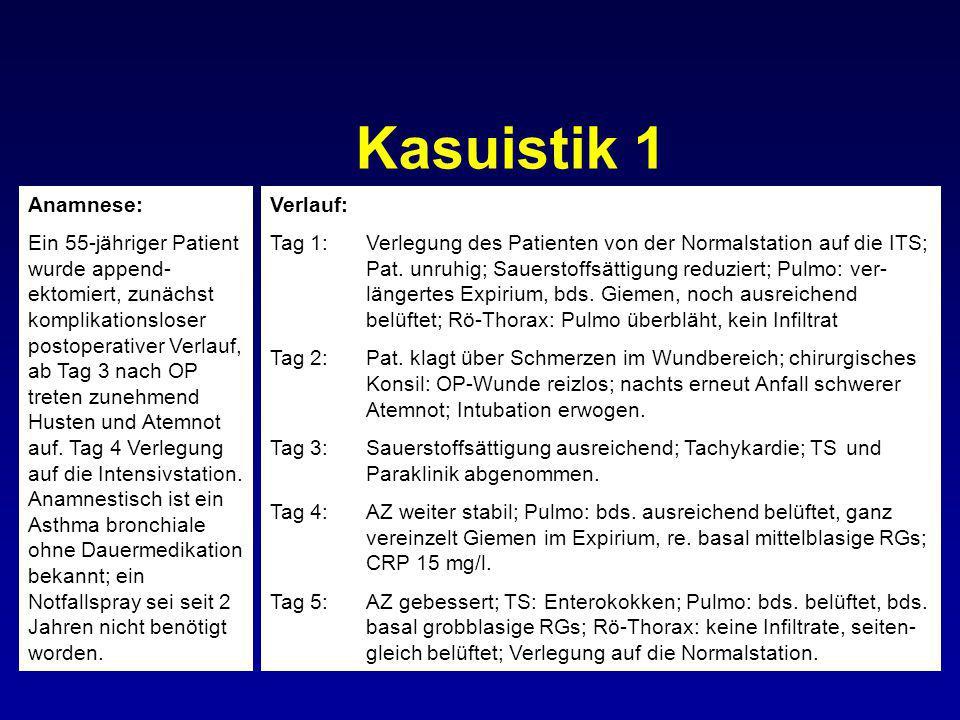 Kasuistik 1 Anamnese: