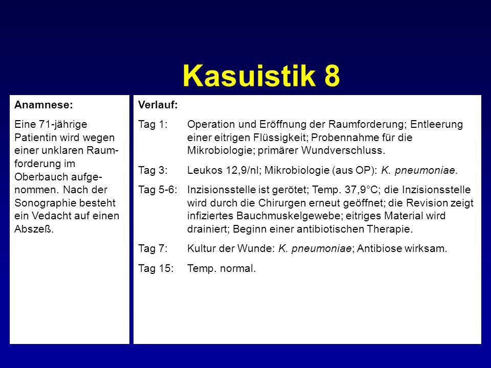 Kasuistik 8 Anamnese: