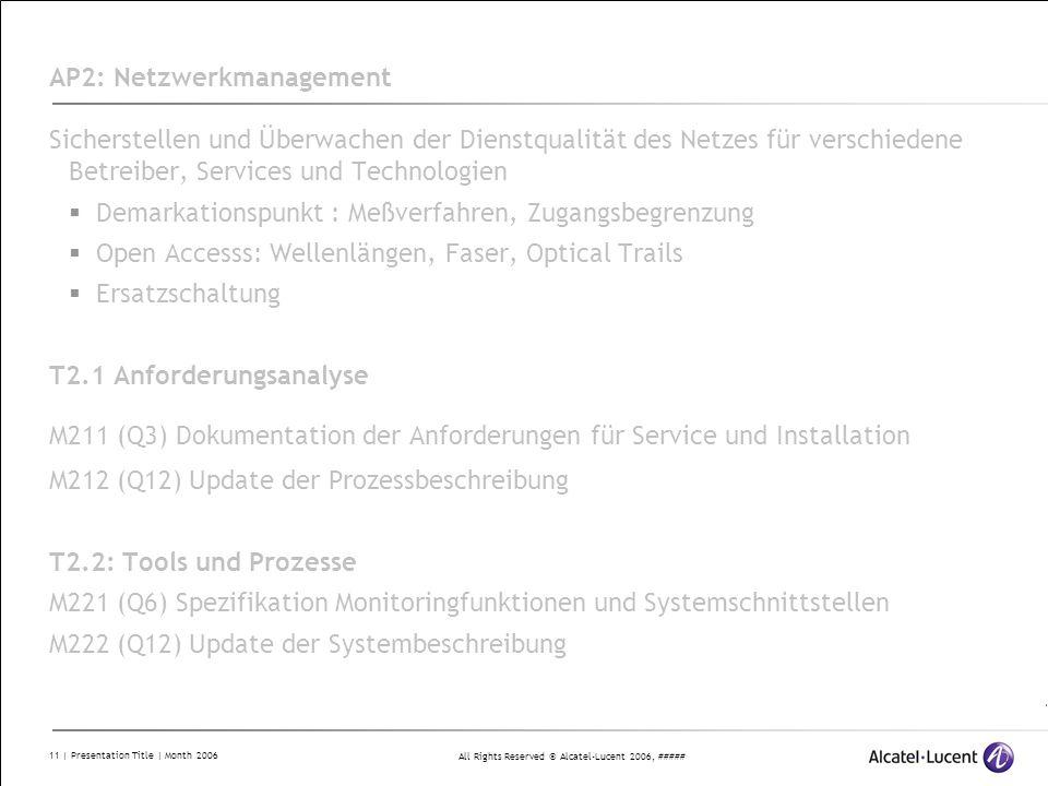 AP2: Netzwerkmanagement