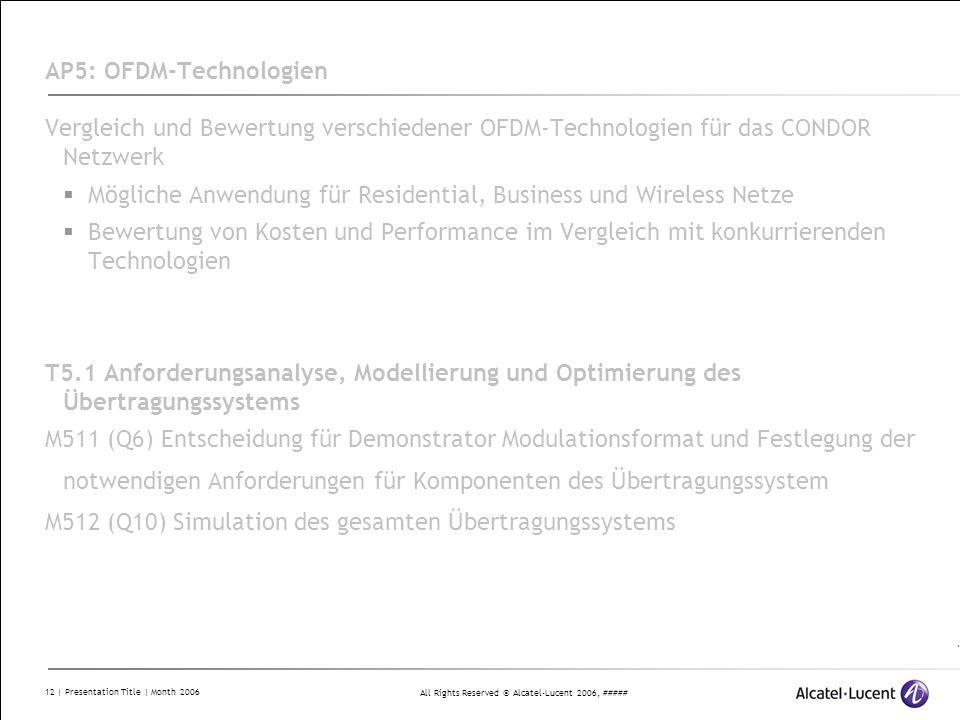 AP5: OFDM-Technologien