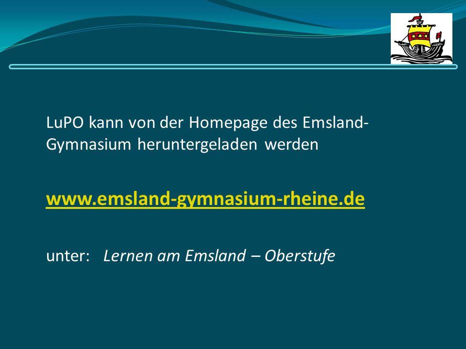 LuPO kann von der Homepage des Emsland-Gymnasium heruntergeladen werden
