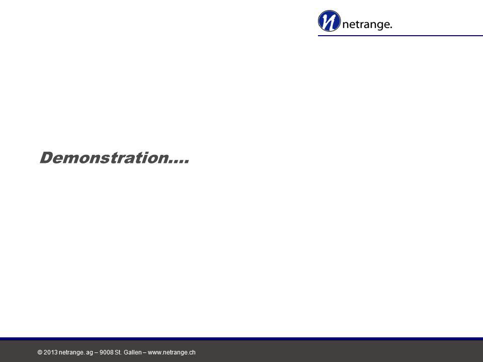 Demonstration…. Das Netzwerk für Ihren Erfolg