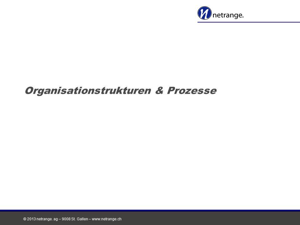 Organisationstrukturen & Prozesse