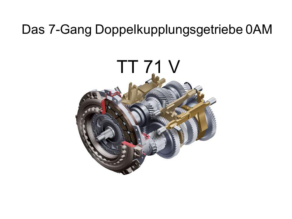 Das 7-Gang Doppelkupplungsgetriebe 0AM
