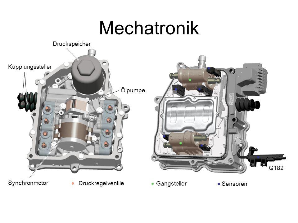 Mechatronik Druckspeicher Kupplungssteller Ölpumpe G182 Synchronmotor