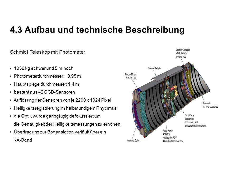 4.3 Aufbau und technische Beschreibung