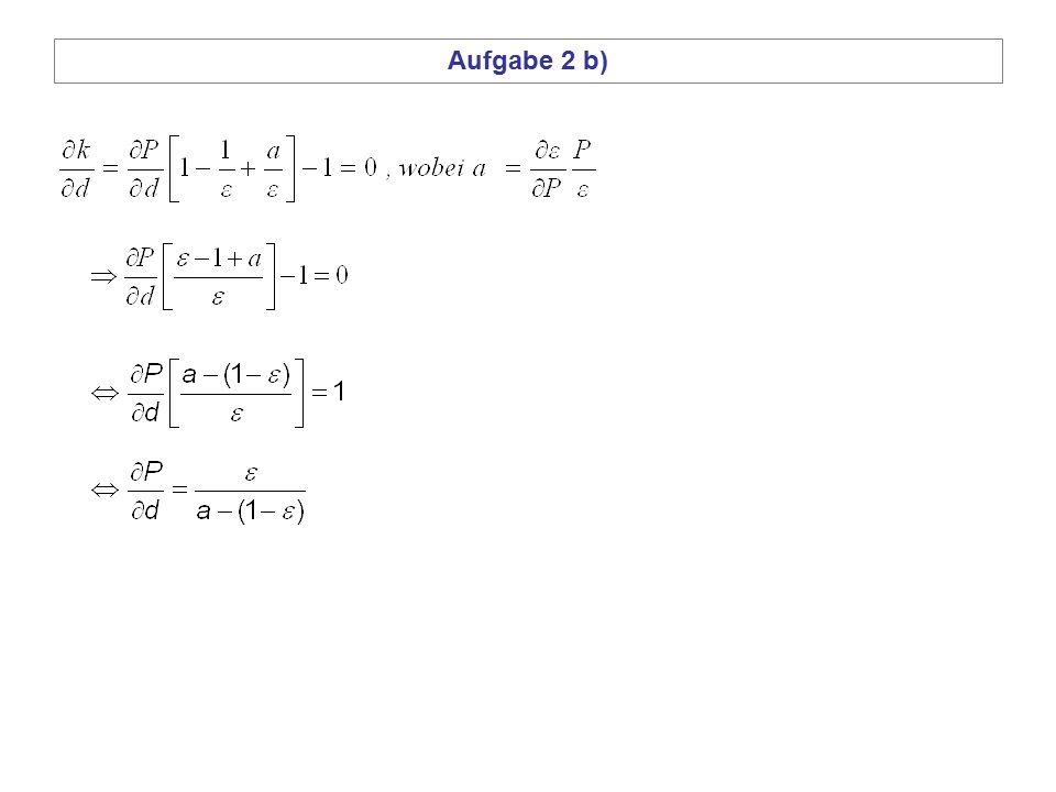 Aufgabe 2 b)