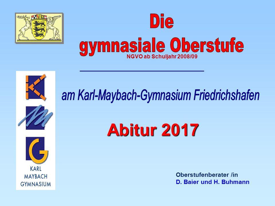 am Karl-Maybach-Gymnasium Friedrichshafen