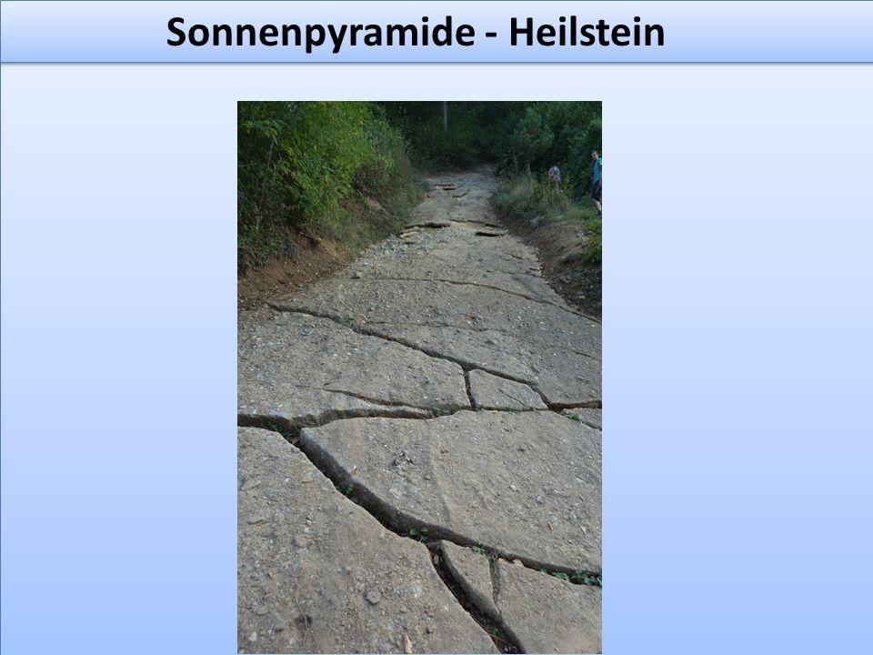 Sonnenpyramide - Heilstein