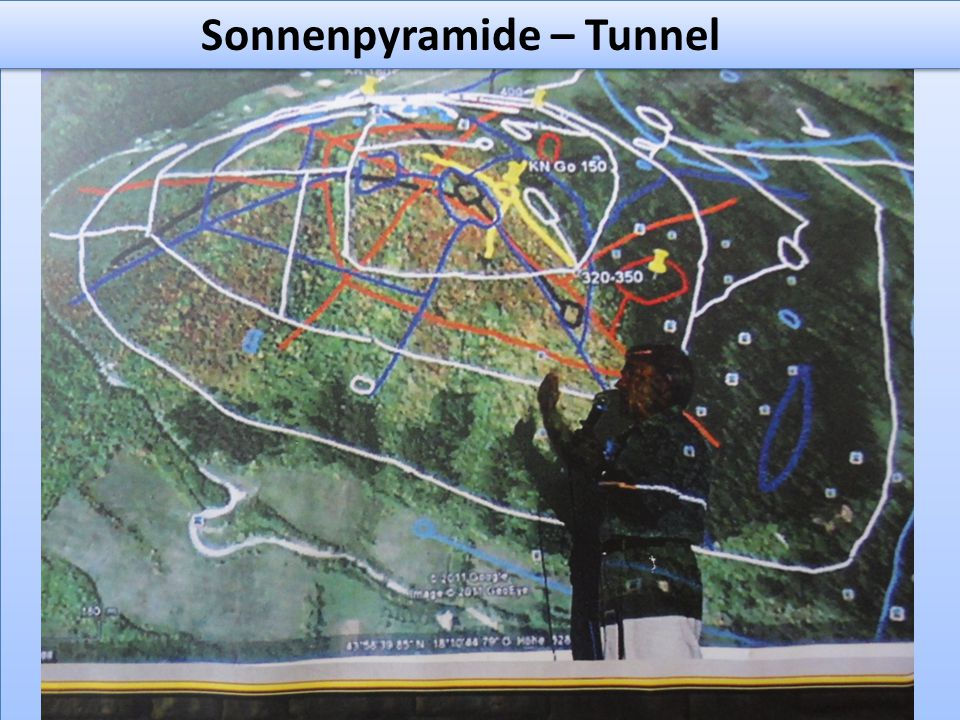 Sonnenpyramide – Tunnel