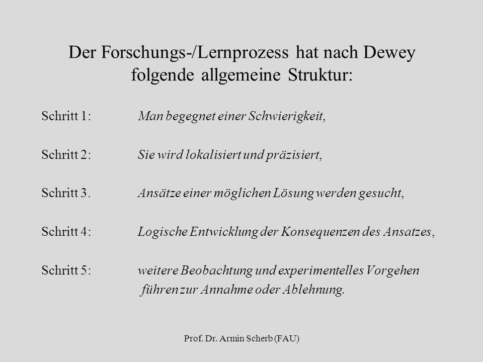 Prof. Dr. Armin Scherb (FAU)