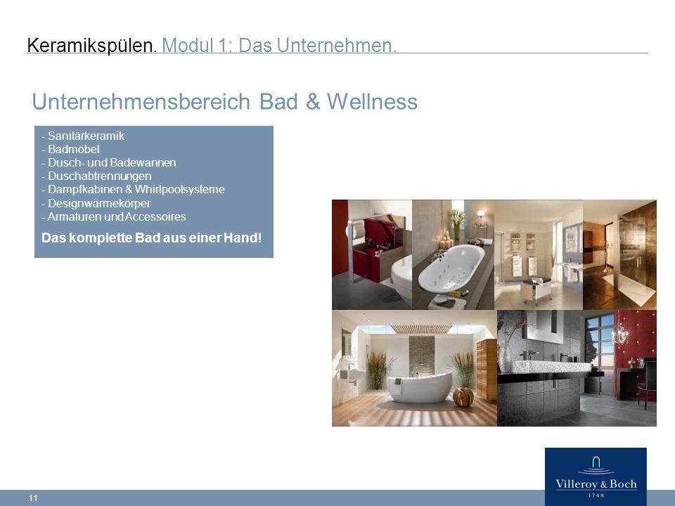 Unternehmensbereich Bad & Wellness