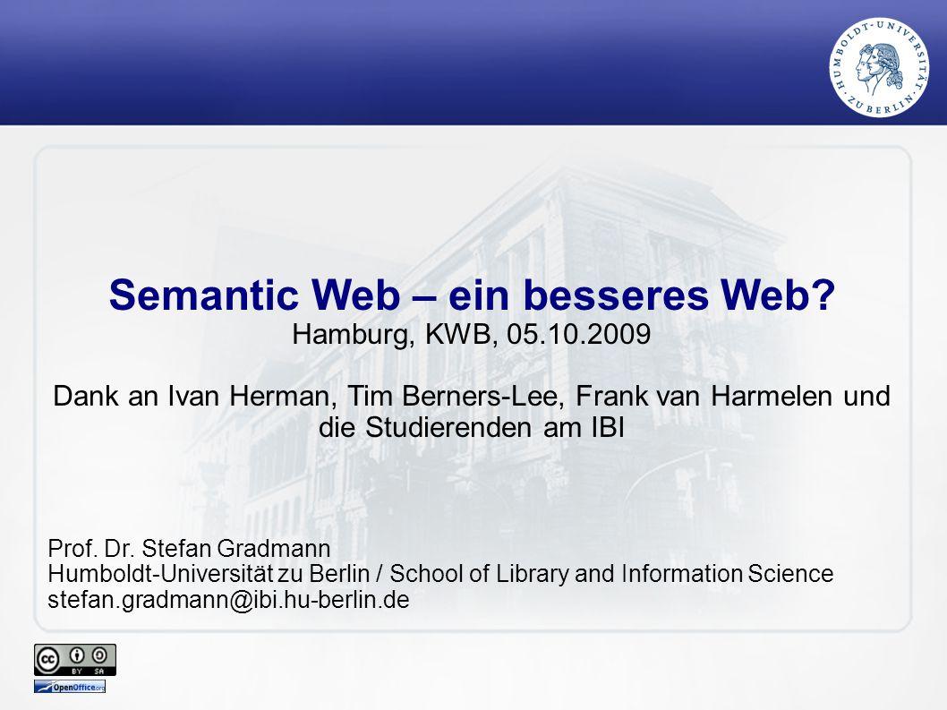 Semantic Web – ein besseres Web