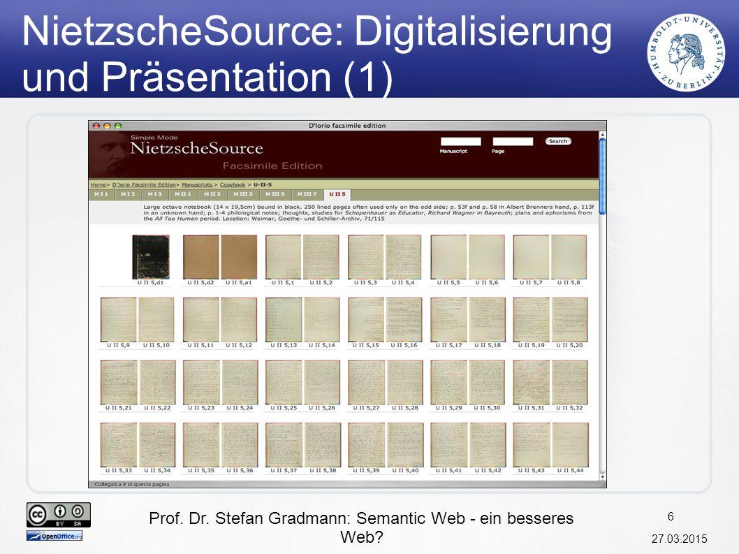 NietzscheSource: Digitalisierung und Präsentation (1)