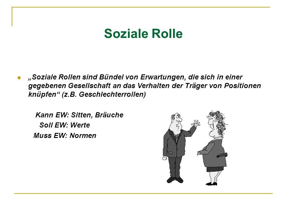 Soziale Rolle
