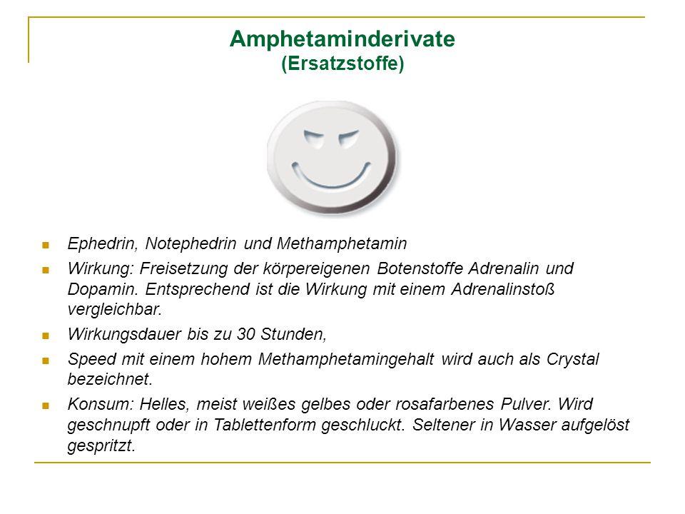 Amphetaminderivate (Ersatzstoffe)