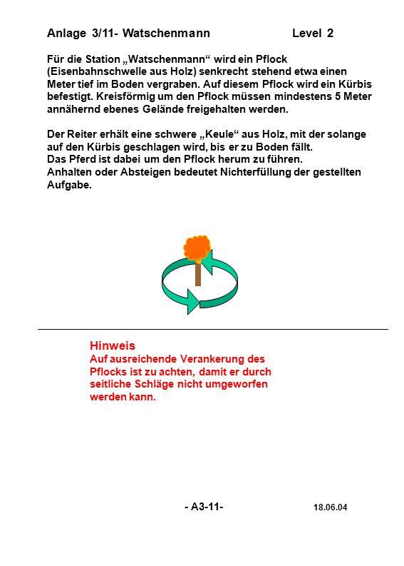 Anlage 3/11- Watschenmann Level 2