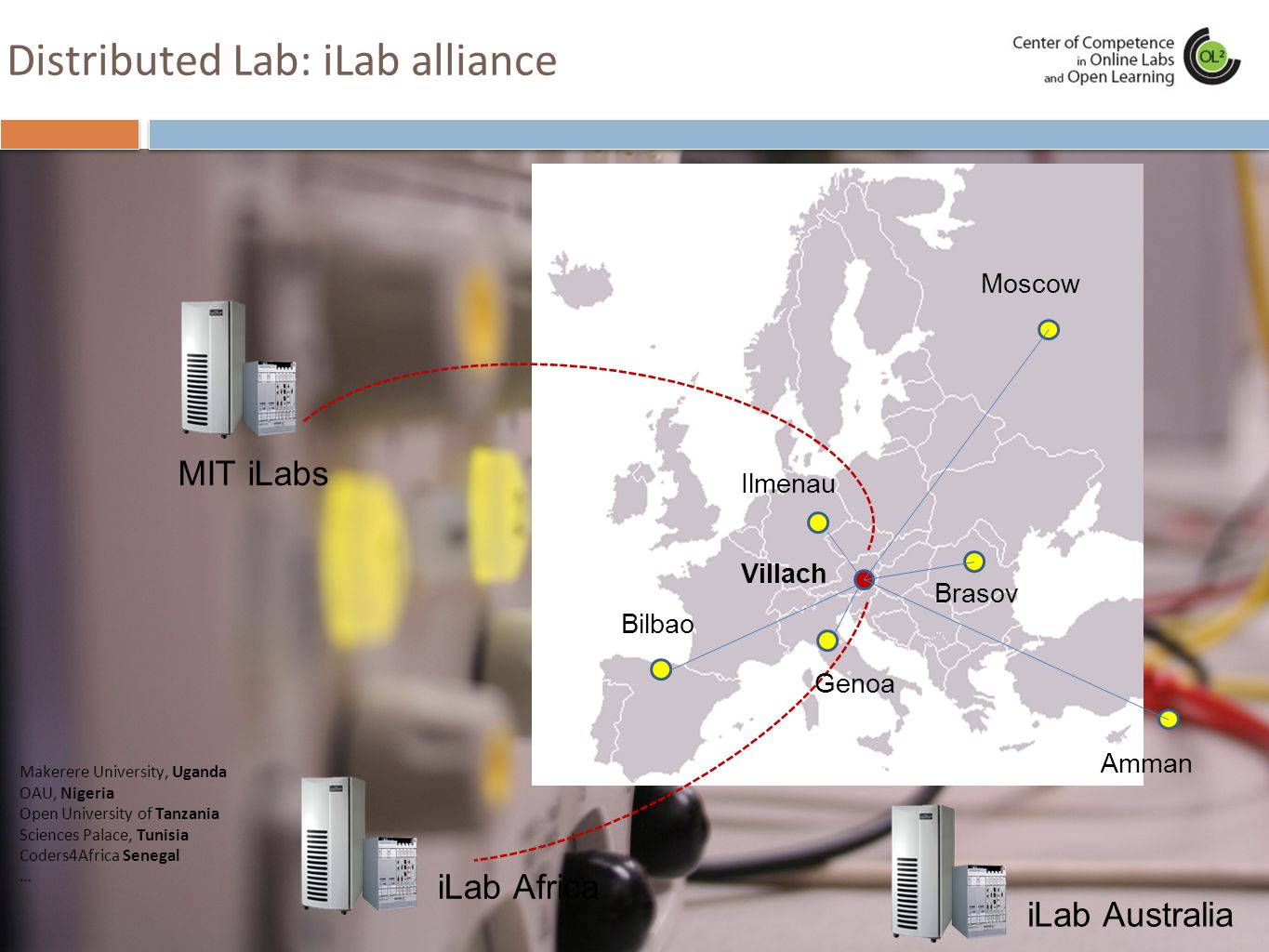 Distributed Lab: iLab alliance