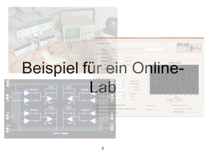 Beispiel für ein Online-Lab