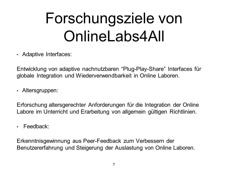 Forschungsziele von OnlineLabs4All