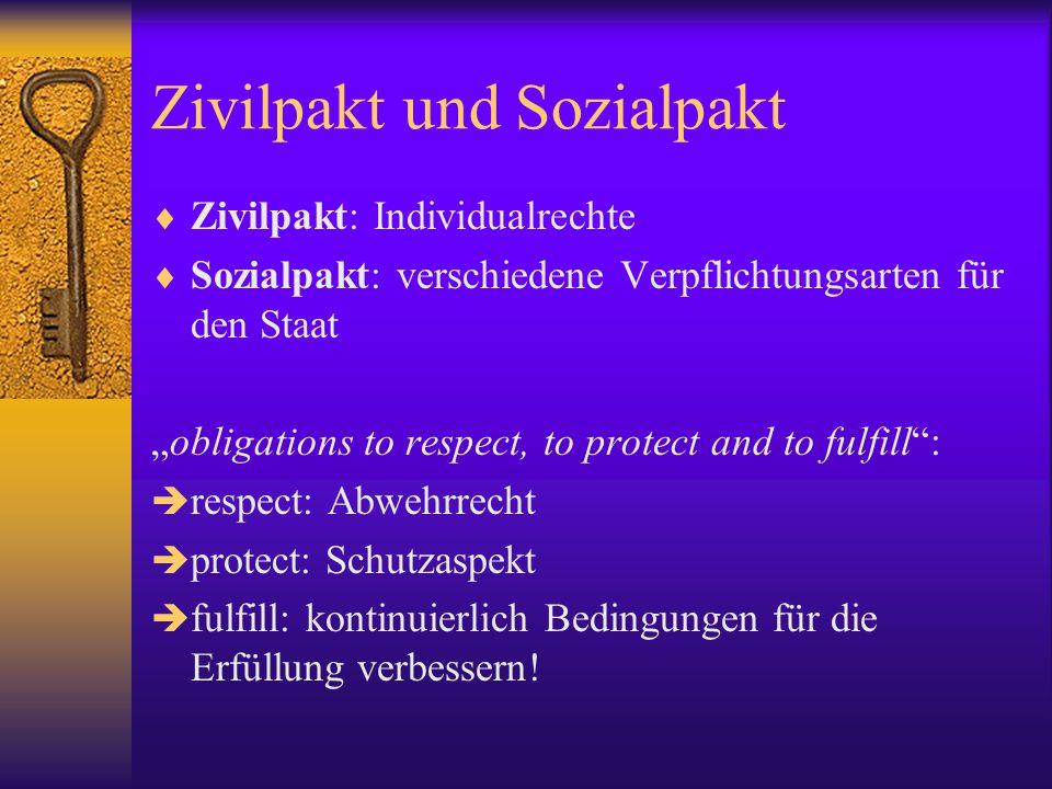 Zivilpakt und Sozialpakt