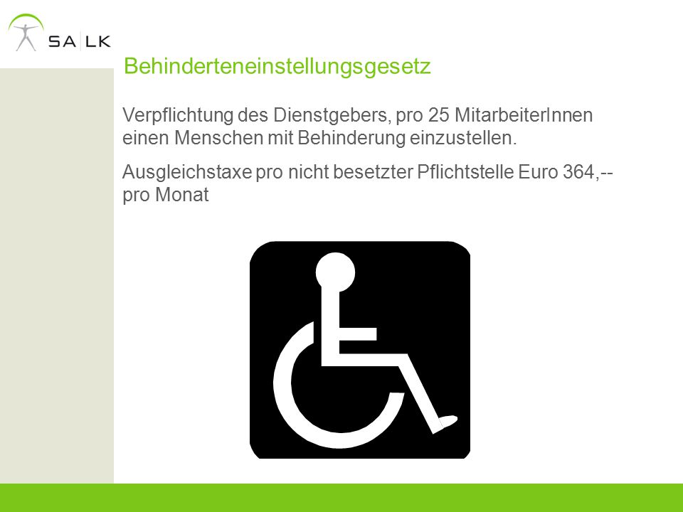 Behinderteneinstellungsgesetz