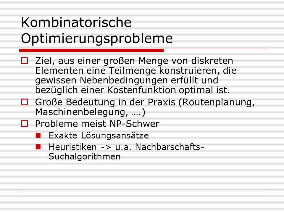 Kombinatorische Optimierungsprobleme
