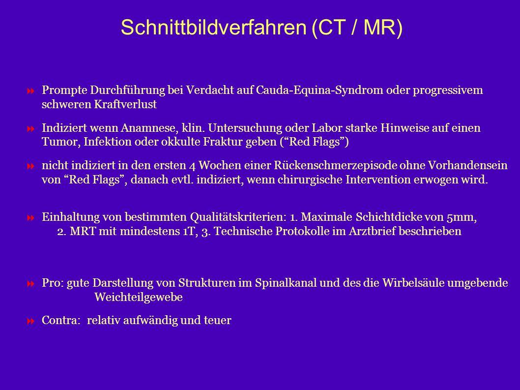 Schnittbildverfahren (CT / MR)