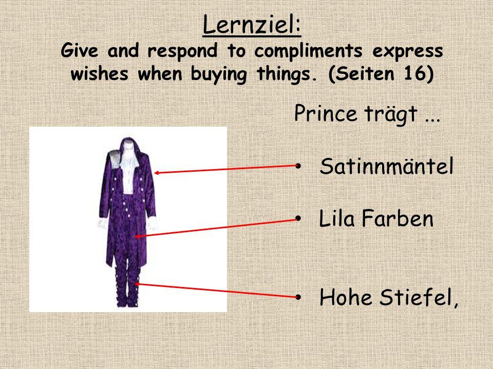 Lernziel: Prince trägt ... Satinnmäntel Lila Farben Hohe Stiefel,