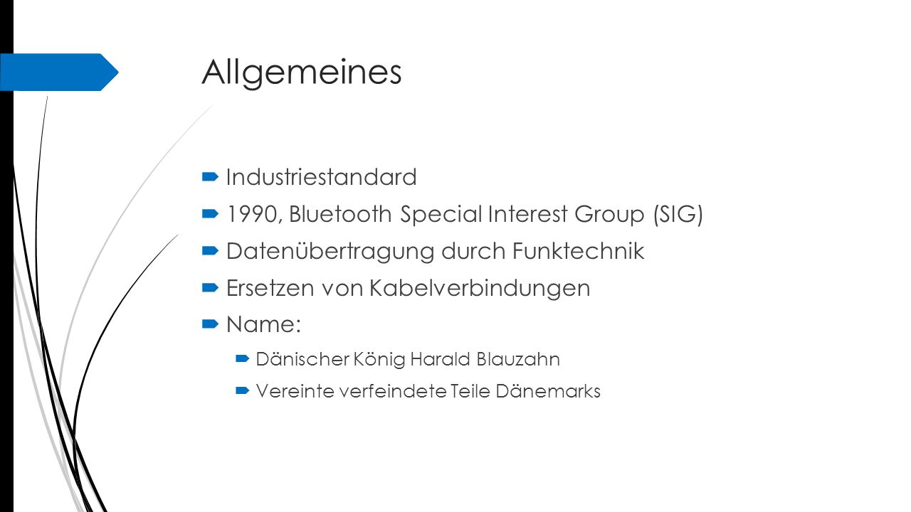 Allgemeines Industriestandard
