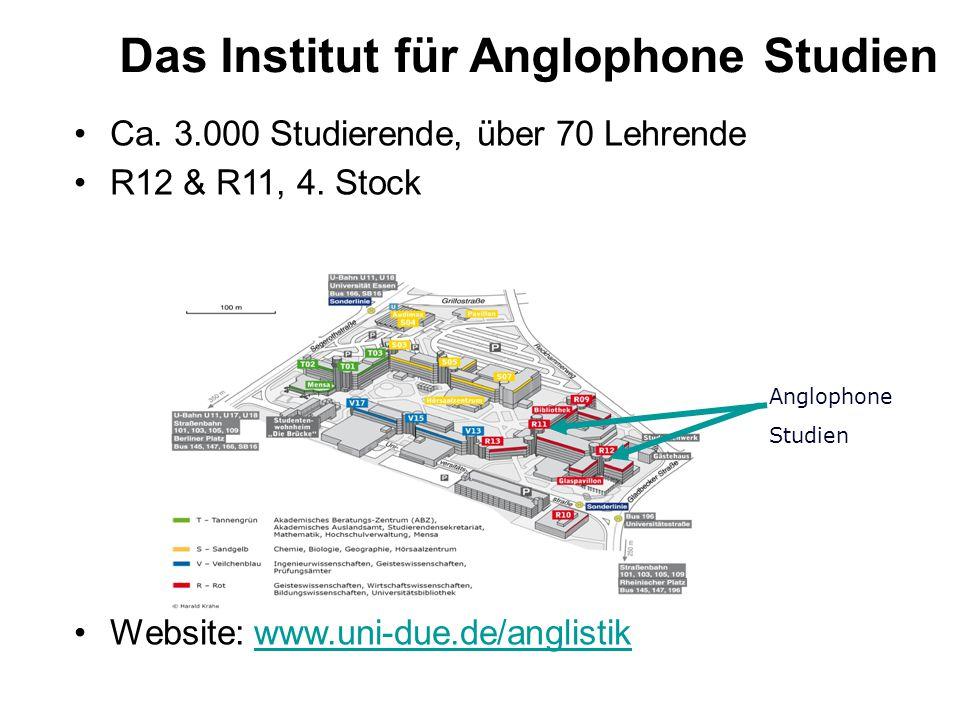 Das Institut für Anglophone Studien