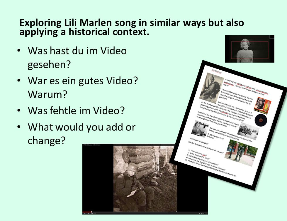 Was hast du im Video gesehen War es ein gutes Video Warum