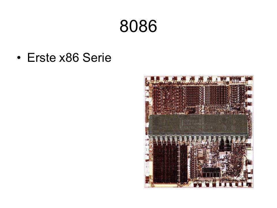 8086 Erste x86 Serie