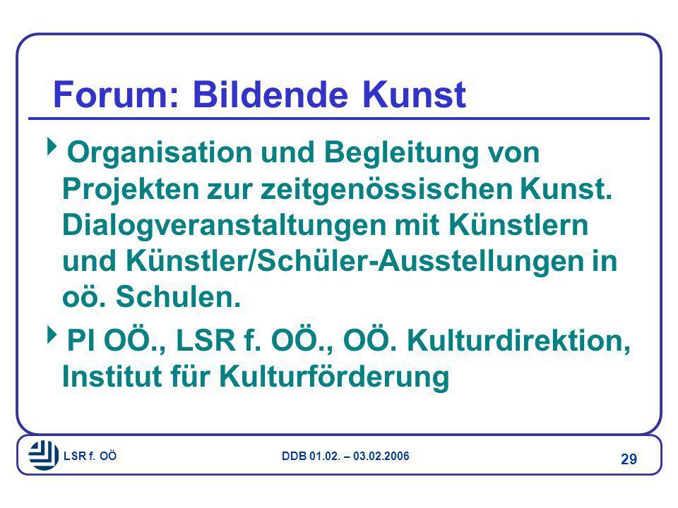 Forum: Bildende Kunst