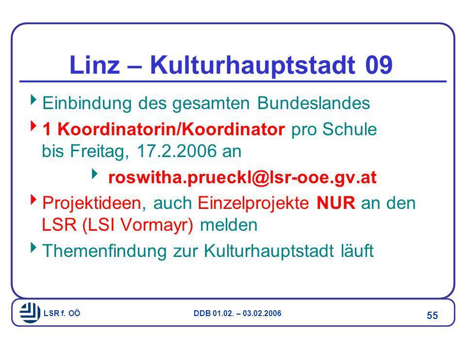 Linz – Kulturhauptstadt 09