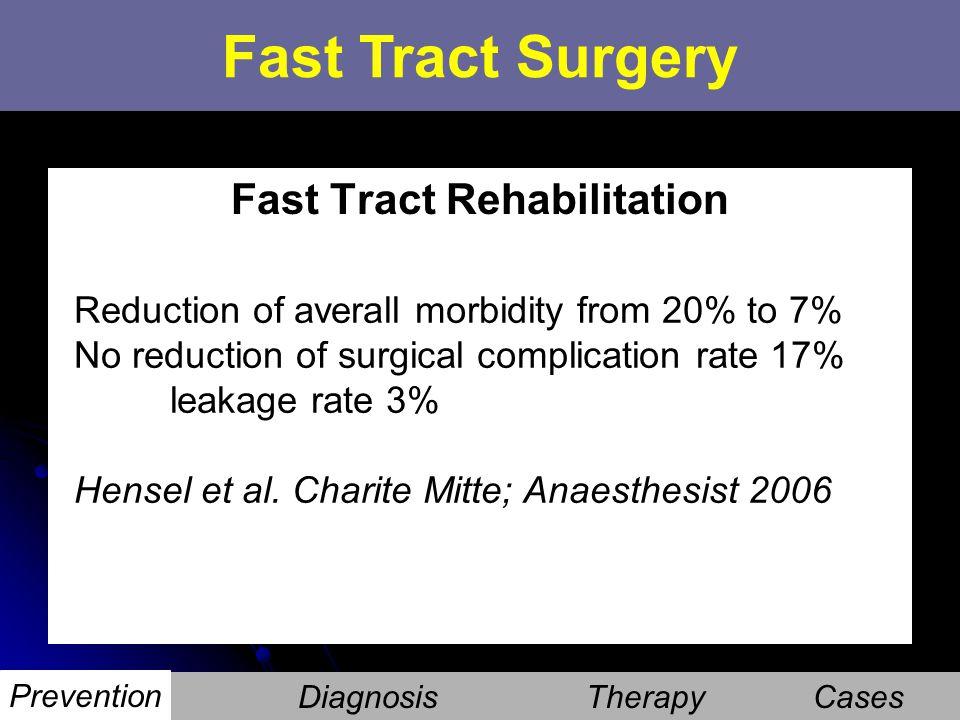 Fast Tract Rehabilitation