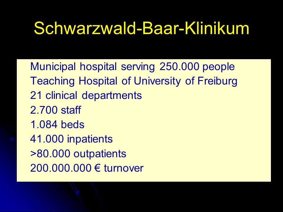 Schwarzwald-Baar-Klinikum