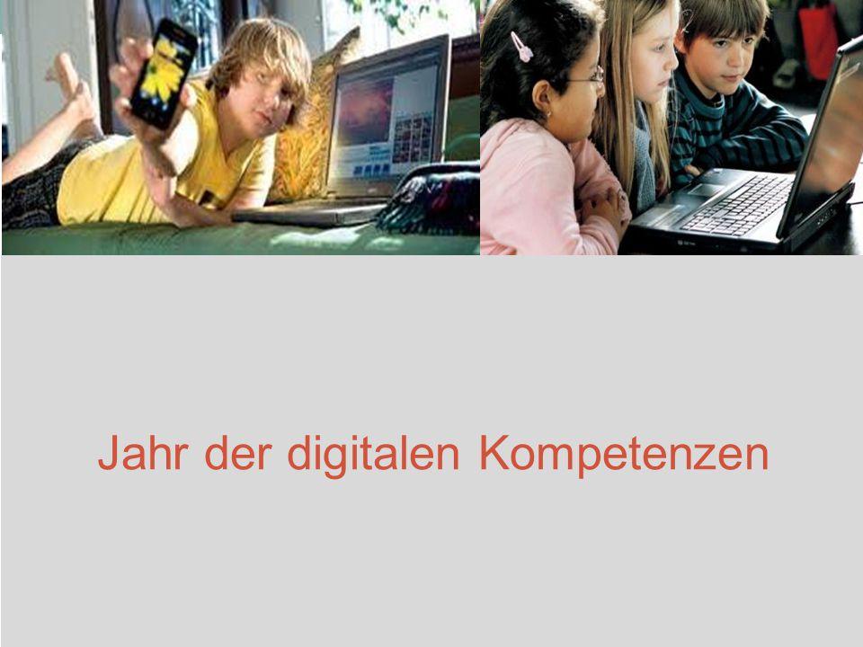 Jahr der digitalen Kompetenzen