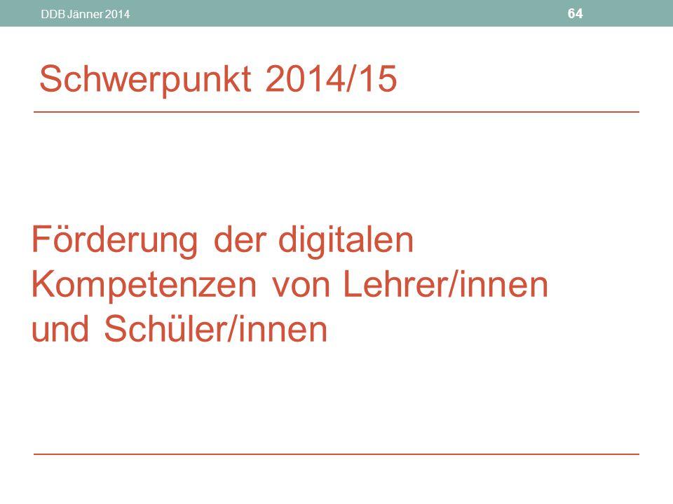 Förderung der digitalen Kompetenzen von Lehrer/innen und Schüler/innen