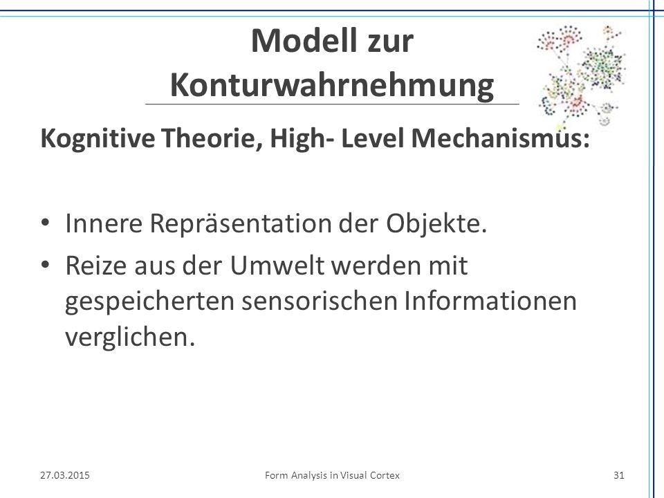Modell zur Konturwahrnehmung
