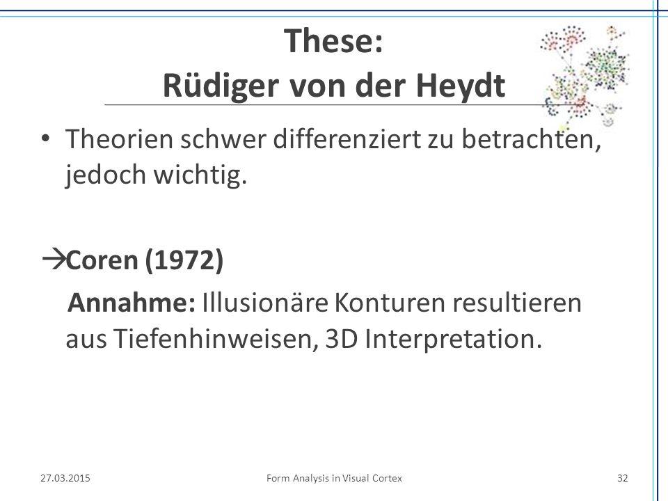 These: Rüdiger von der Heydt