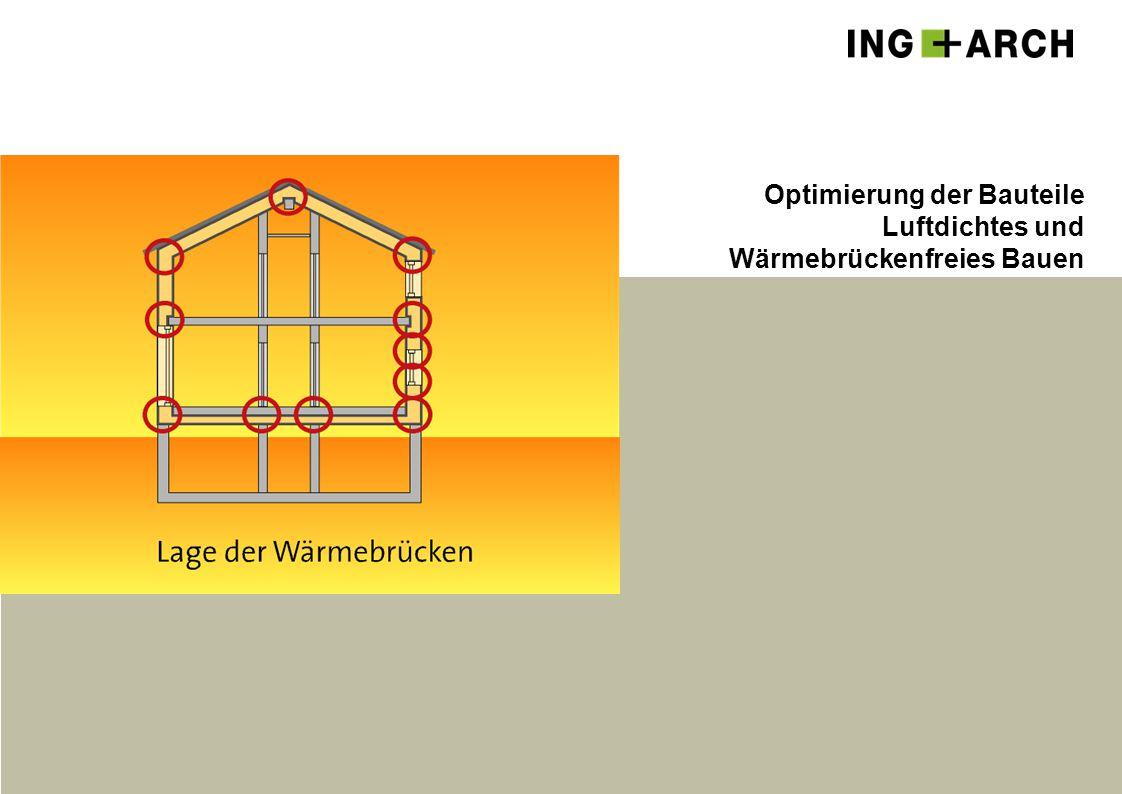 Optimierung der Bauteile